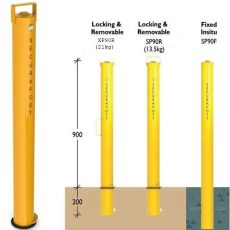 Securapost Sentinel SP90R Removable Bollards