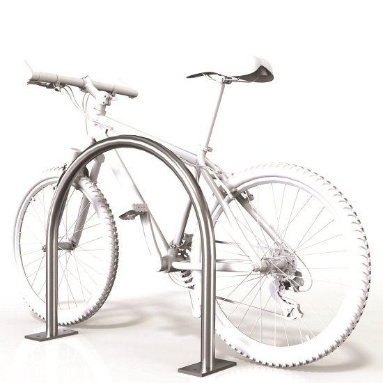 SecuraBike Architectural Bike Base Plate Rail