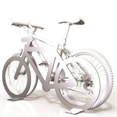 SecuraBike Bicycle Shaped Bike Base Plate Rail