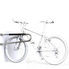 SecuraBike Hitching Wall Mounted Bike Rail