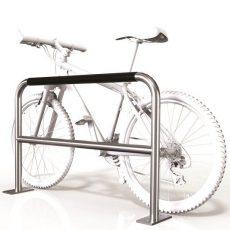 SecuraBike Large 2 Bike Base Plate Rail With Security Bar
