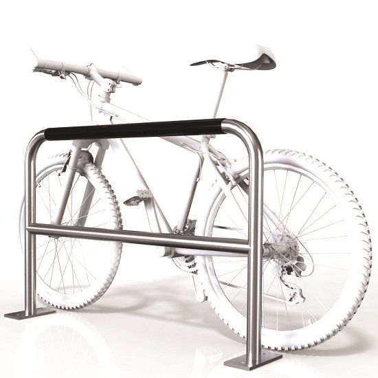 SecuraBike Large 2 Bike Base Plate Rail With Security Bar